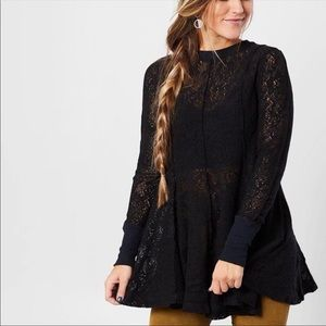Free People Tops - Free People Coffee in the Morning Tunic Pullover
